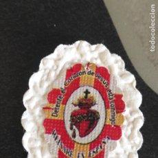 Militaria: DETENTE BALA EL CORAZON DE JESUS ESTA CONMIGO . REINARE EN ESPAÑA. Lote 213852352