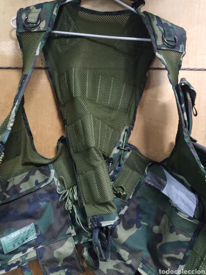 Militaria: CHALECO PORTAEQUIPO DE COMBATE ALTUS CAMUFLAJE BOSCOSO ÚLTIMO MODELO BOLSILLOS DESMONTABLES NUEVO - Foto 3 - 194331765