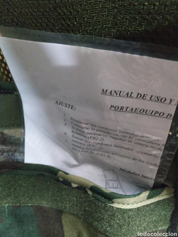Militaria: CHALECO PORTAEQUIPO DE COMBATE ALTUS CAMUFLAJE BOSCOSO ÚLTIMO MODELO BOLSILLOS DESMONTABLES NUEVO - Foto 5 - 194331765