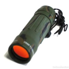 Militaria: *MONOCULAR 8X21 ENFOQUE ADAPTABLE CAMO LENTE RUBI CON FUNDA 33072 M2* *MONOCULAR 8X21 CAMUFLAJE. L. Lote 194716187