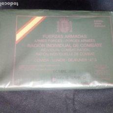 Militaria: RACION DE COMBATE 2009. Lote 194867531
