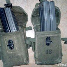 Militaria: PAREJA DE PORTACARGADORES MODELO 56 AMERICANOS VIETNAM GUERRA. Lote 194961742