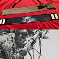 Militaria: TELÉMETRO ALEMÁN DE CAMPAÑA CON SU FUNDA ORIGINAL - II GUERRA MUNDIAL -C1940 - JUSTIERLATTE - 0,70M. Lote 194969778