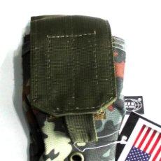 Militaria: BOLSA REVISTA SISTEMA MOLLE REVISTA BOLSA CON VELCRO EN TAMAÑO: APROX. ANCHO: 8.5, PROFUNDIDA 30607V. Lote 195231972