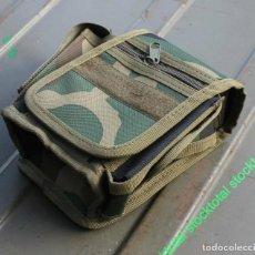 Militaria: BOLSO PARA CINTURON CON 3 COMPARTIMENTOS, FLECKTARN 30745T. Lote 195356482