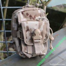 Militaria: BOLSA SISTEMA MOLLE 11X15 CMS 39812 143 P. Lote 195540922