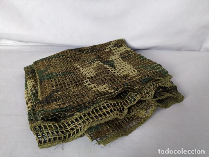 Militaria: RED MIMÉTICA GRANDE 185x160 CM - EJERCITO ESPAÑOL - AÑOS 90 - CASI NUEVA - Foto 2 - 195756487