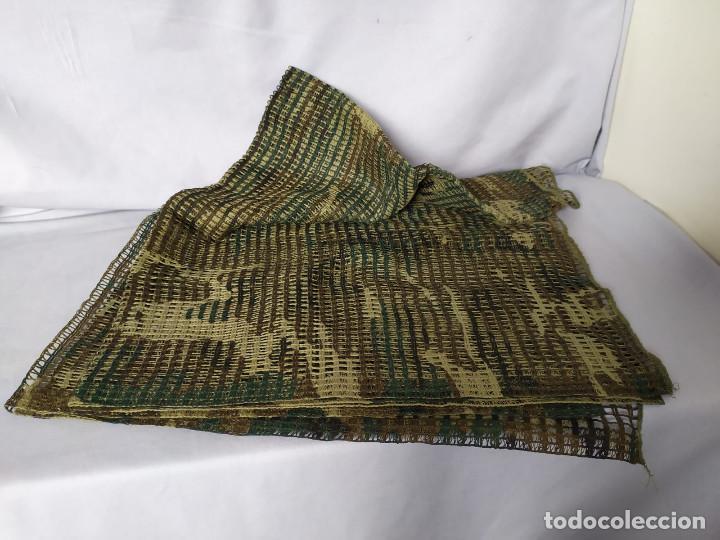 Militaria: RED MIMÉTICA GRANDE 185x160 CM - EJERCITO ESPAÑOL - AÑOS 90 - CASI NUEVA - Foto 3 - 195756487