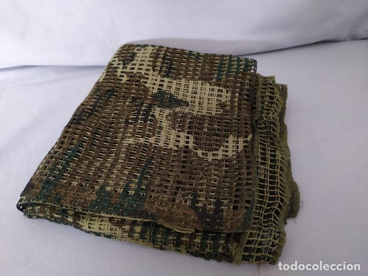 Militaria: RED MIMÉTICA GRANDE 185x160 CM - EJERCITO ESPAÑOL - AÑOS 90 - CASI NUEVA - Foto 5 - 195756487