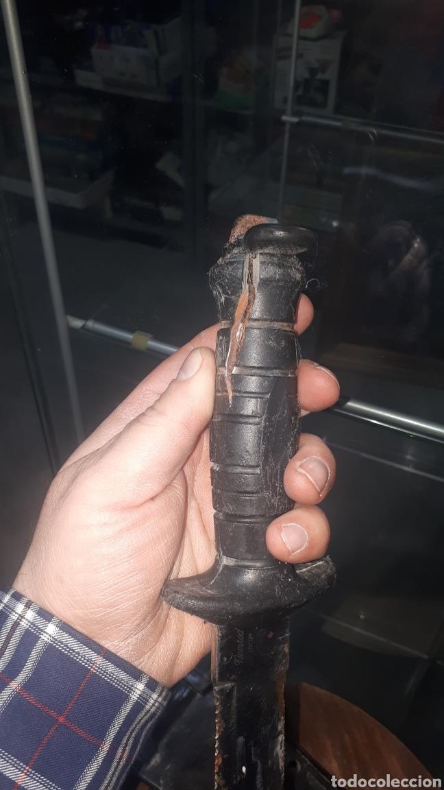Militaria: Cuchillo machete buzo buceador NEMROD made in spain INOX - Foto 3 - 196095531