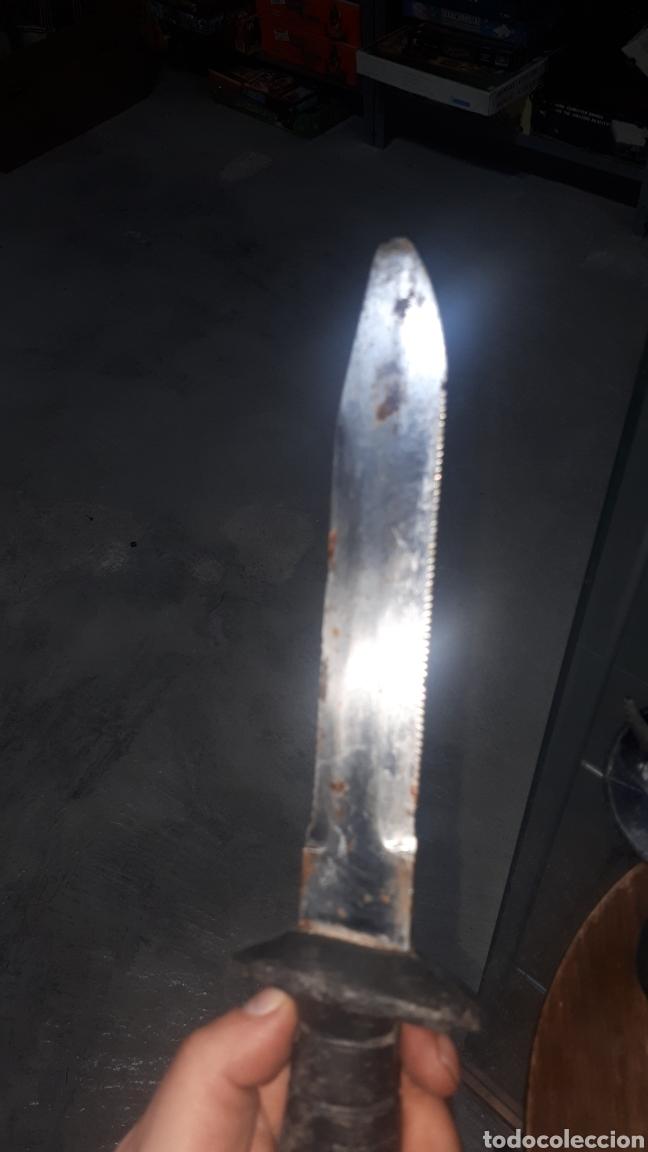 Militaria: Cuchillo machete buzo buceador NEMROD made in spain INOX - Foto 5 - 196095531