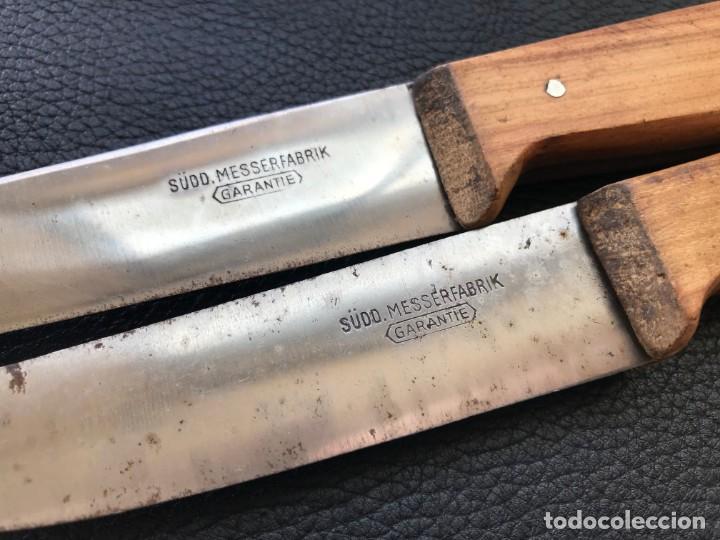 Militaria: 2 cuchillos navaja cuchillo Tercer reich nazi hitler fuhrer nsdap - Foto 2 - 197761722
