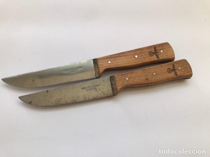 Militaria: 2 cuchillos navaja cuchillo Tercer reich nazi hitler fuhrer nsdap - Foto 3 - 197761722