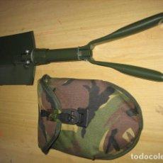 Militaria: PALA MILITAR DE CAMPAÑA,CON FUNDA CAMO.. Lote 198173237