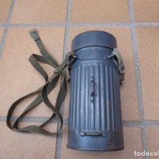 Militaria: BOTE MÁSCARA ANTIGÁS ALEMANA. M-36 LEGIÓN CONDOR. Lote 198347113