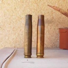 Militaria: DOS VAINAS ARTE TRINCHERA,ENCENDEDOR,. Lote 204640707