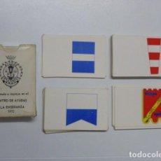 Militaria: BARAJA DE SEÑALES...MINISTERIO DE MARINA. AÑOS 70...PARA SEÑALEROS DE LA ARMADA ESPAÑOLA.. Lote 205023858
