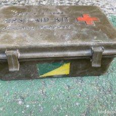 Militaria: BOTIQUÍN AMERICANO PARA CARRO DE COMBATE M60. RARO. Lote 205409008