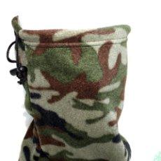 Militaria: BRGA CUELLO POLAR MICRO FLEECE AJUSTE TANKA COLOR CAMO. Lote 205715691