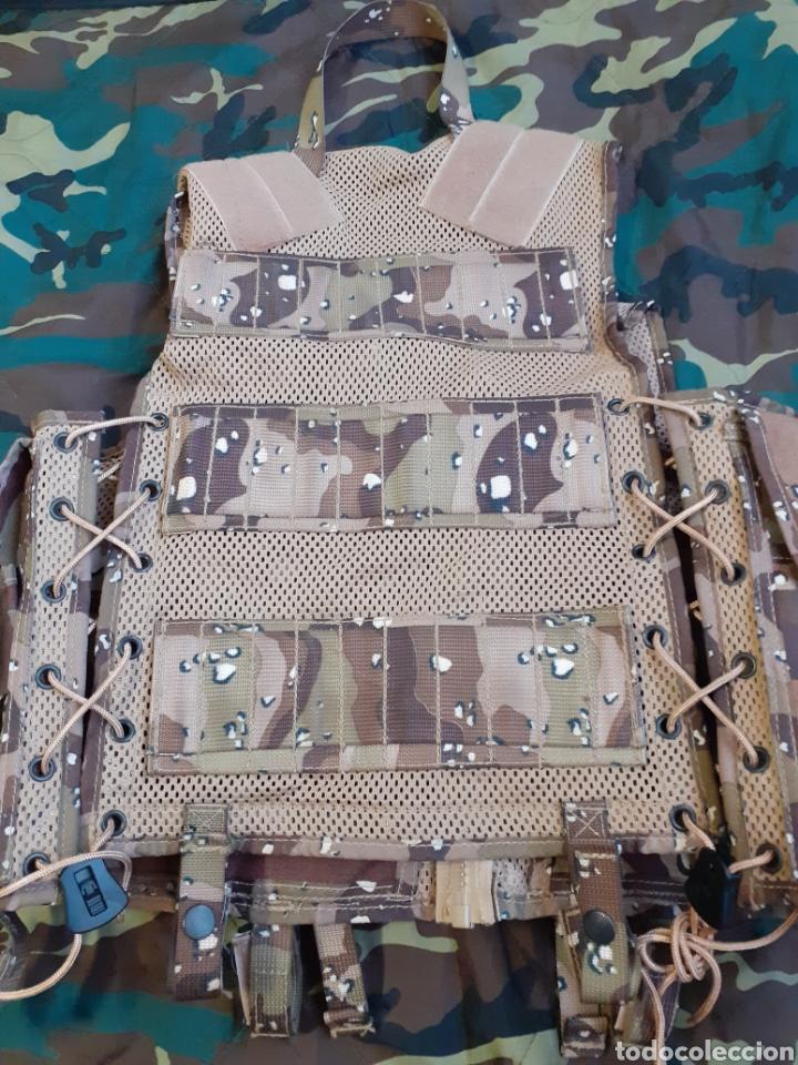 Militaria: PORTA EQUIPO DE COMBATE PECO ARIDO 6 COLORES NUEVO - Foto 2 - 207054281