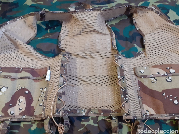 Militaria: PORTA EQUIPO DE COMBATE PECO ARIDO 6 COLORES NUEVO - Foto 3 - 207054281