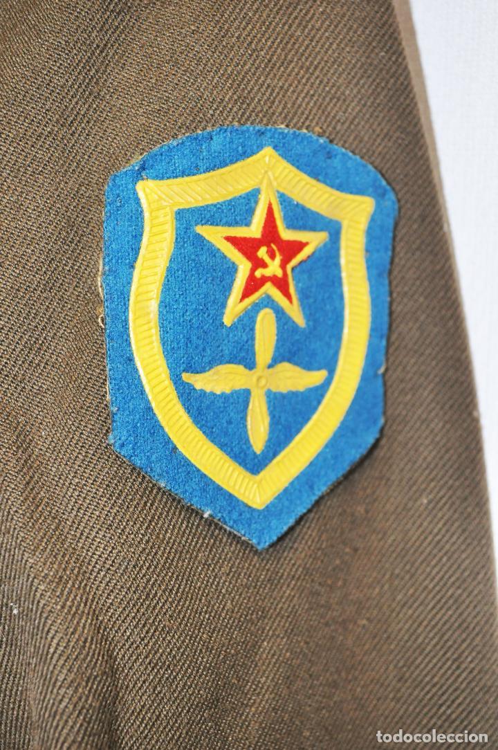 Militaria: Chaqueta militar sovietica .Fuerzas aerotransportadas.Soldado.URSS - Foto 3 - 210785766
