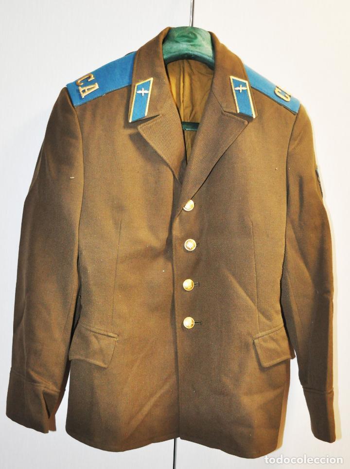 CHAQUETA MILITAR SOVIETICA .FUERZAS AEROTRANSPORTADAS.SOLDADO.URSS (Militar - Equipamiento de Campaña)