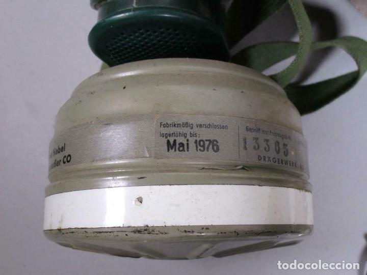 Militaria: MAGNIFICA Y ANTIGUA COLECCION MILITAR ALEMANIA CASCOS MASCARA ANTIGAS GAFAS CAMTIMPLORA 530,00 € - Foto 3 - 215683285