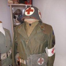 Militaria: BOLSA MILITAR SANITARIO. Lote 216793545