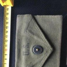 Militaria: CARTERA DEL USA. ARMY WWII EN TELA ORIGINAL 1945. Lote 221812178