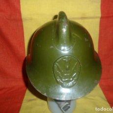 Militaria: CASCO RUSO DE BOMBEROS CON PLETO. Lote 222245211
