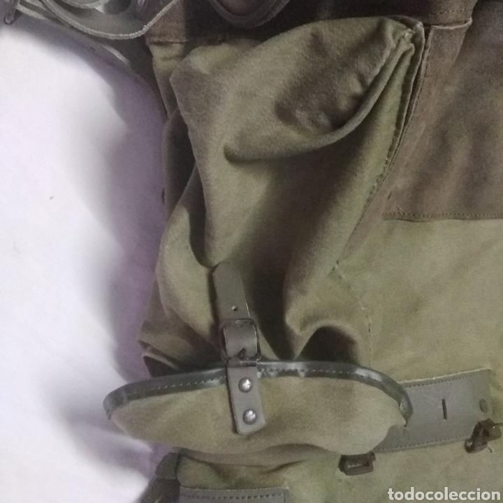 Militaria: MOCHILA MILITAR DE GRAN CAPACIDAD -MARCA ALTUS POSETS- MUY ANTIGUA (MADE IN SPAIN). - Foto 10 - 222693140