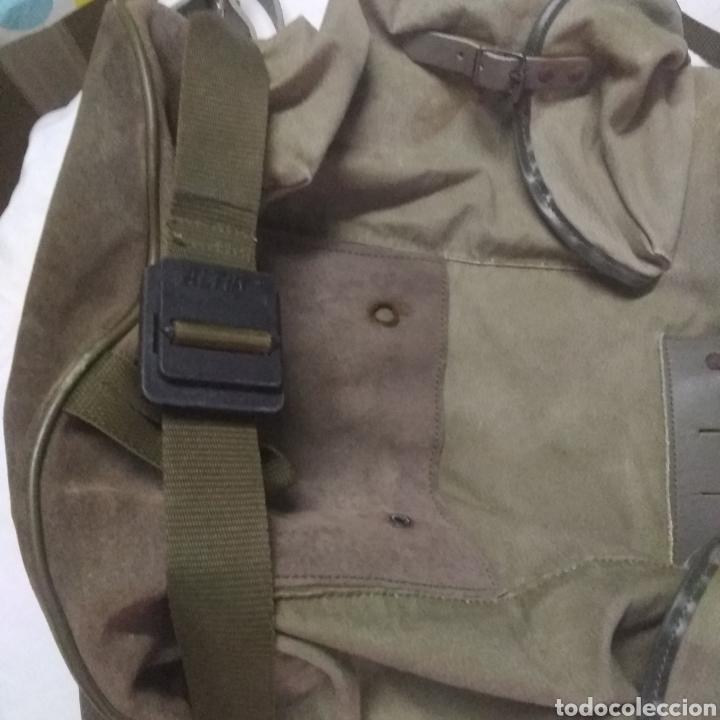 Militaria: MOCHILA MILITAR DE GRAN CAPACIDAD -MARCA ALTUS POSETS- MUY ANTIGUA (MADE IN SPAIN). - Foto 11 - 222693140