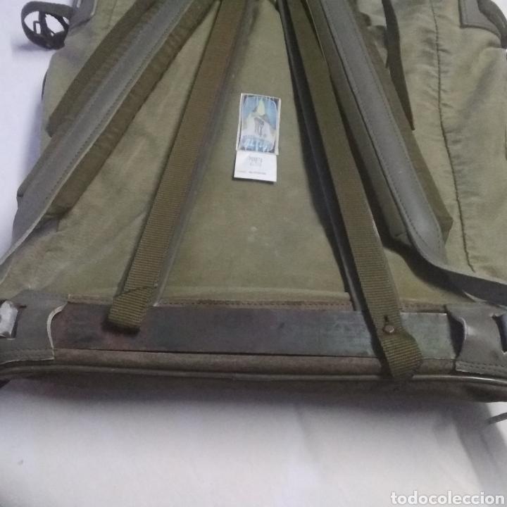 Militaria: MOCHILA MILITAR DE GRAN CAPACIDAD -MARCA ALTUS POSETS- MUY ANTIGUA (MADE IN SPAIN). - Foto 16 - 222693140