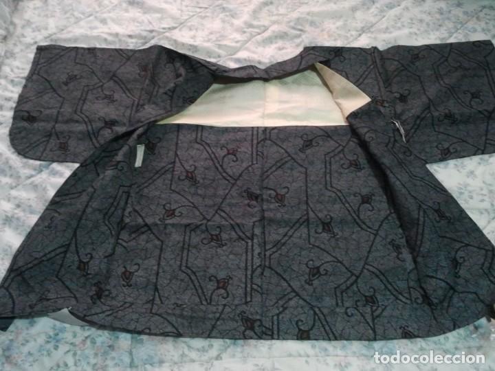 Militaria: Kimono antiguo de Japón. Hombre, mujer y cadete. - Foto 4 - 222693963