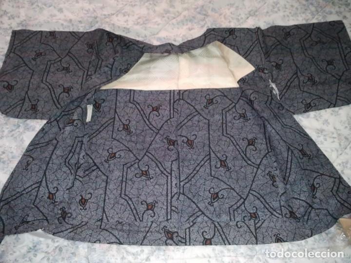 Militaria: Kimono antiguo de Japón. Hombre, mujer y cadete. - Foto 6 - 222693963