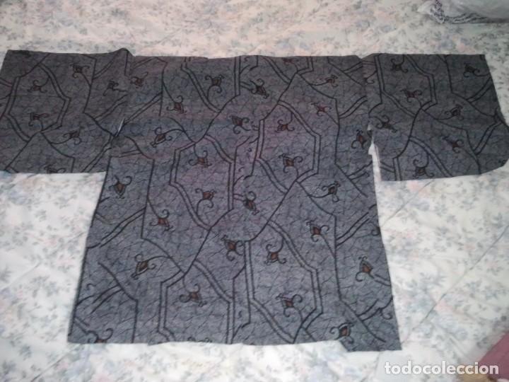 Militaria: Kimono antiguo de Japón. Hombre, mujer y cadete. - Foto 9 - 222693963