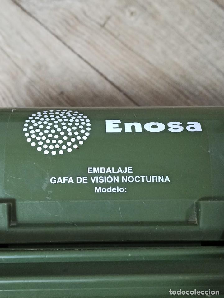 Militaria: MALETÍN EMBALAJE GAFAS DE VISIÓN NOCTURNA ENOSA - Foto 4 - 227200490
