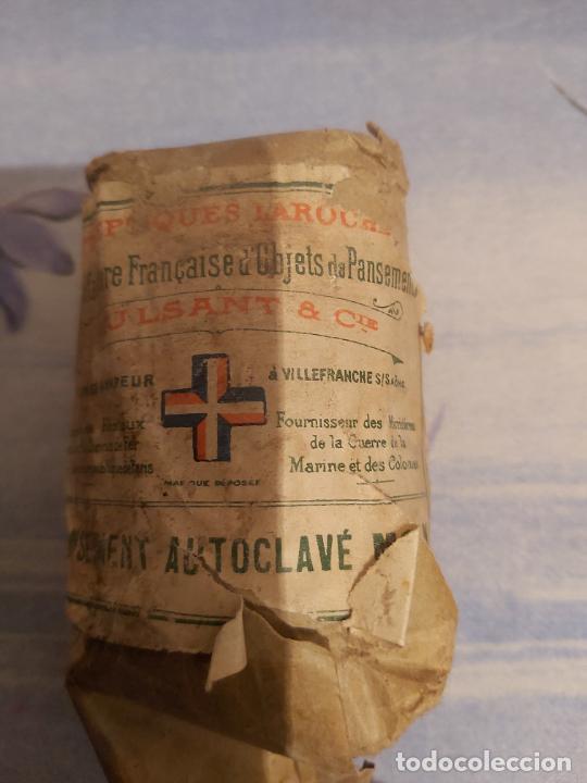 Militaria: Paquete de algodón militar francés - Foto 2 - 228201925