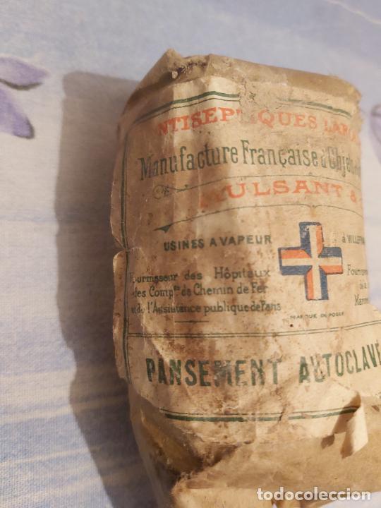 Militaria: Paquete de algodón militar francés - Foto 3 - 228201925