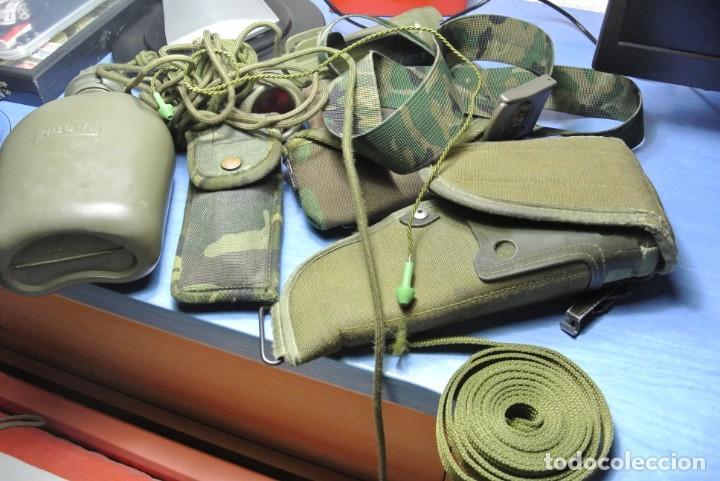 LOTE DE MATERIAL MILITAR EJERCITO ESPAÑOL (Militar - Equipamiento de Campaña)