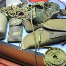 Militaria: LOTE DE MATERIAL MILITAR EJERCITO ESPAÑOL. Lote 231015575