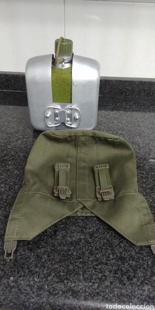 CANTIMPLORA MILITAR COMPLETA AÑOS 80 (Militar - Equipamiento de Campaña)