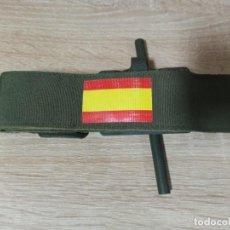 Militaria: TORNIQUETE CON BANDERA DE ESPAÑA EJÉRCITO ESPAÑOL. Lote 232487515