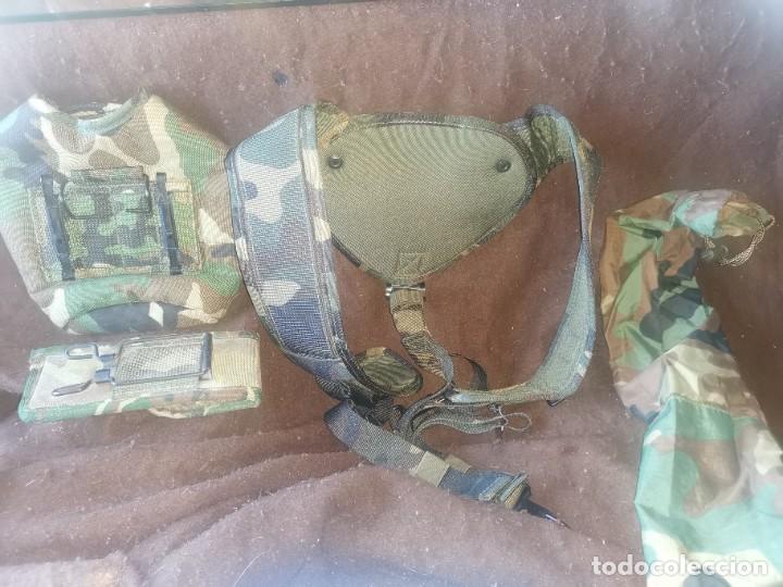 Militaria: Lote arnés y fundas militares - Foto 2 - 234459320