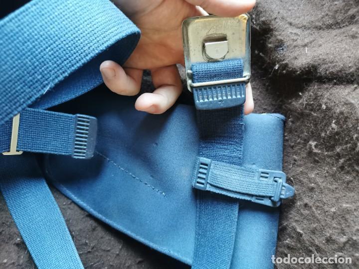 Militaria: Funda de pistola y cinturón aviación.original - Foto 4 - 165959521