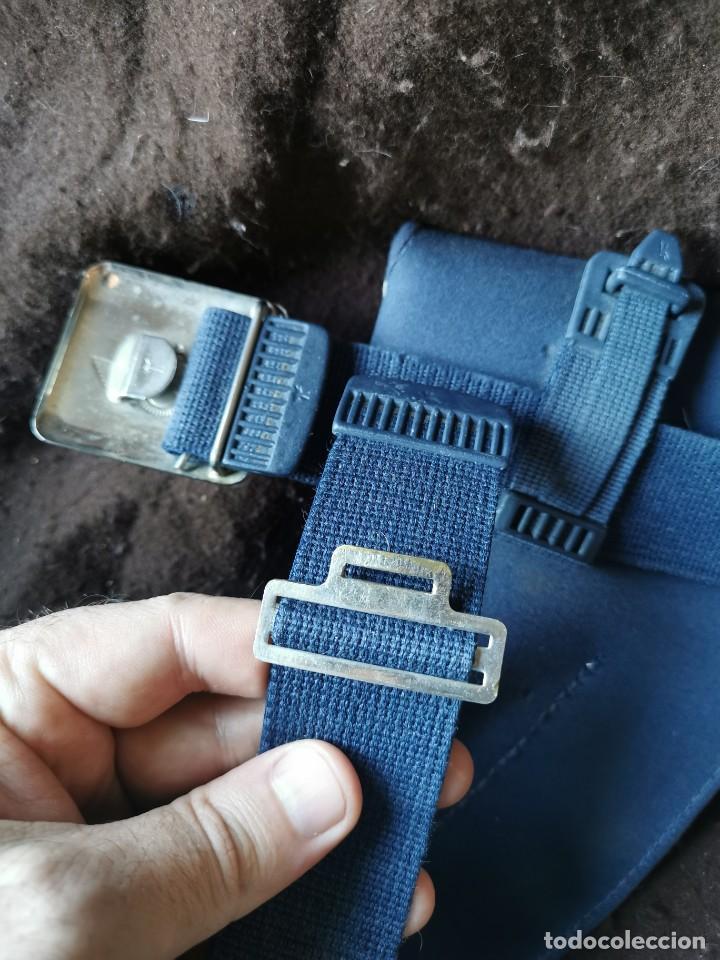 Militaria: Funda de pistola y cinturón aviación.original - Foto 5 - 165959521