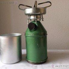 Militaria: EQUIPAMIENTO DE CAMPAÑA,CAMPING GAS ANTIGUO. Lote 236162705