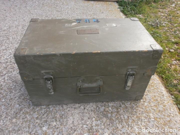 Militaria: Pieza única en el mercado visor para cañon 40/70 Bimador - Fabricado por ENOSA caja madera original - Foto 4 - 27577233