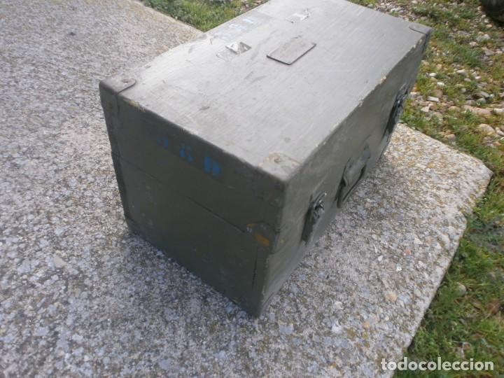 Militaria: Pieza única en el mercado visor para cañon 40/70 Bimador - Fabricado por ENOSA caja madera original - Foto 5 - 27577233